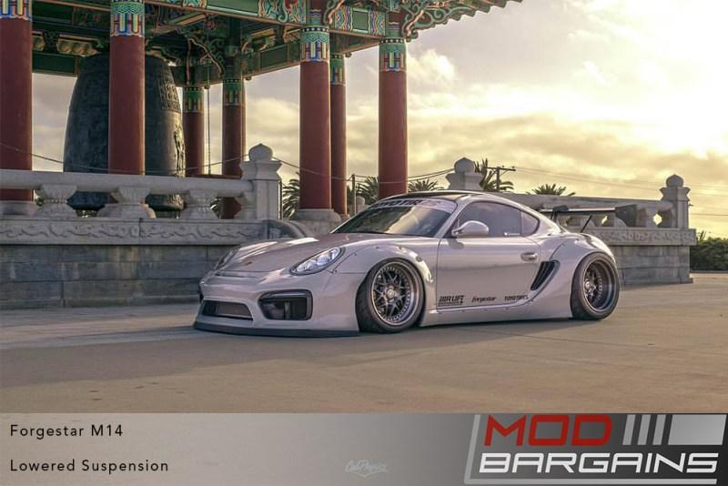 Forgestar M14, Cayman, Porsche Cayman