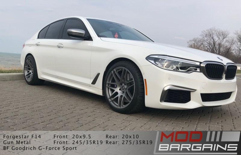 G30, M550i, bmw, forgestar, forgestar f14, BMW M550, 5 series, wheels, front