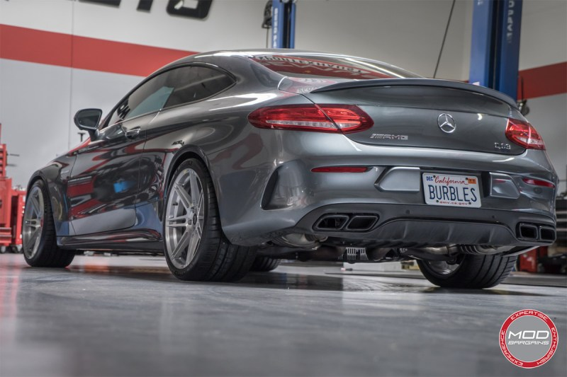 Burbles is back - New Forgestar CF7S on the Mercedes C63 AMG