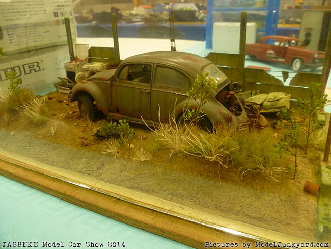 Dioramas At Jabbeke Model Car Show - Find car shows