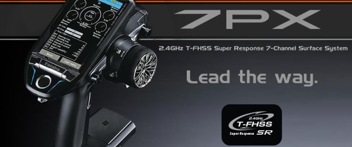 Futaba 7PX 2.4 GHz távirányító
