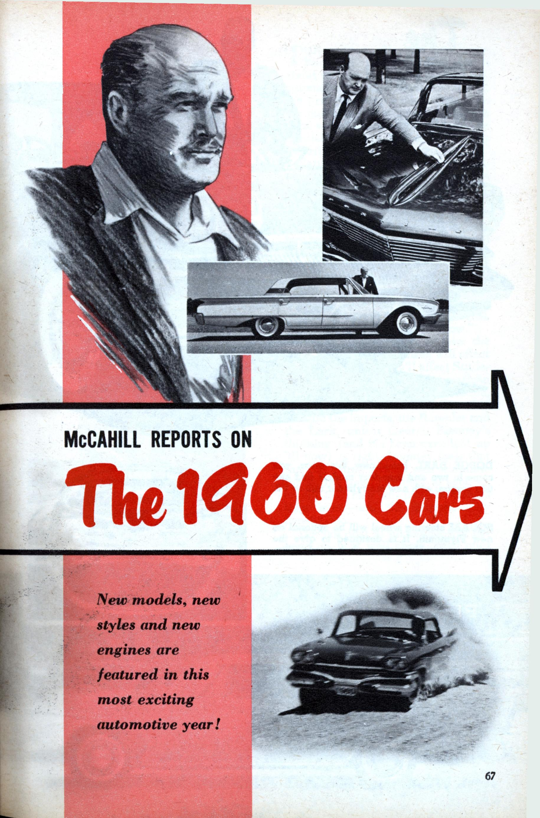 Mccahill Reports On The 1960 Cars Modern Mechanix