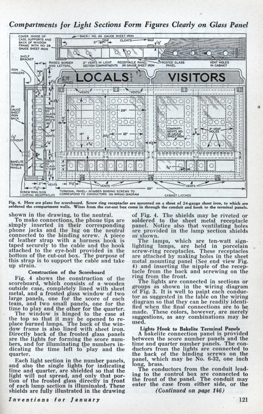 medium resolution of build this basketball scoreboard for your gym jan 1933