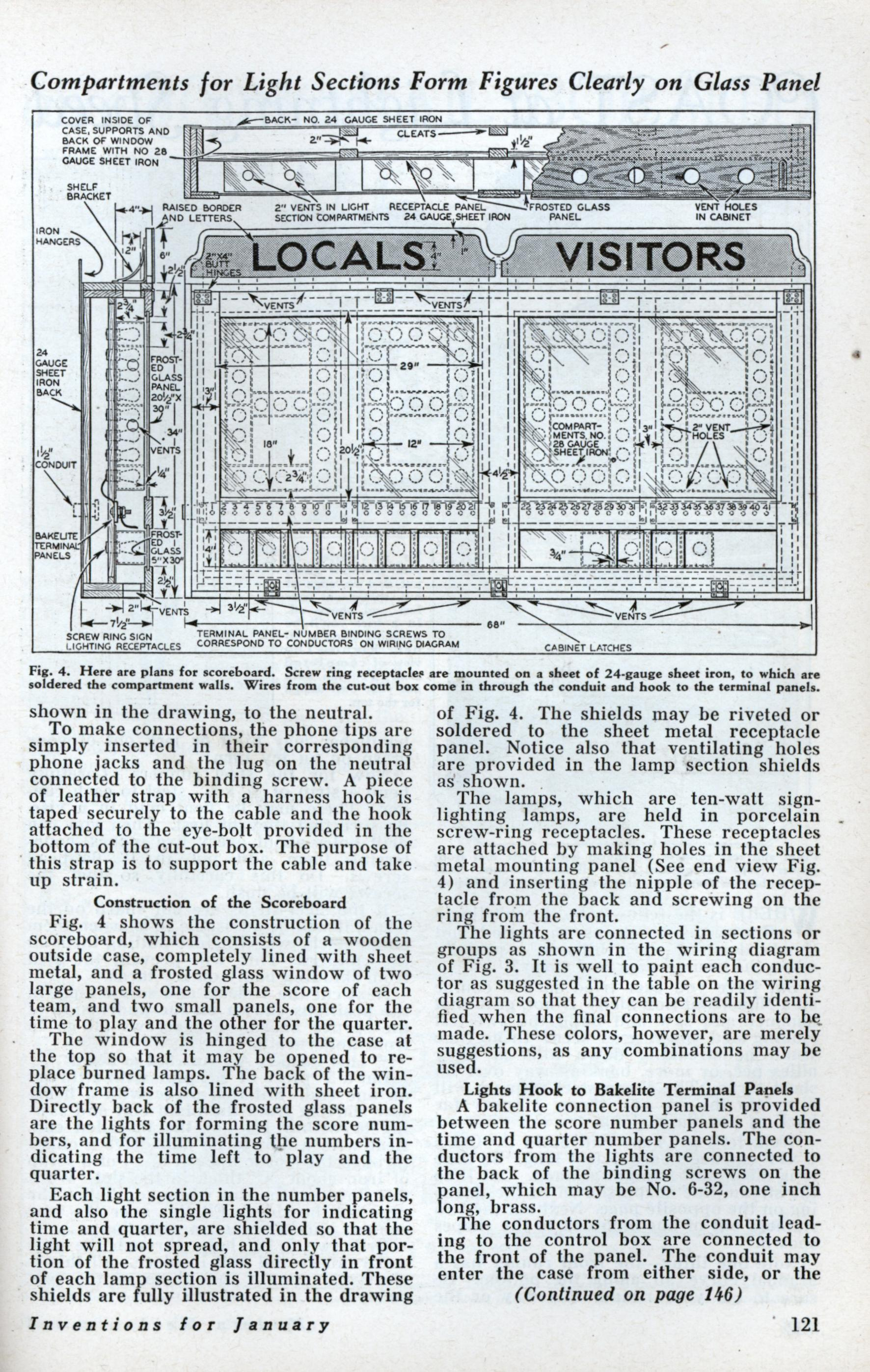 hight resolution of build this basketball scoreboard for your gym jan 1933