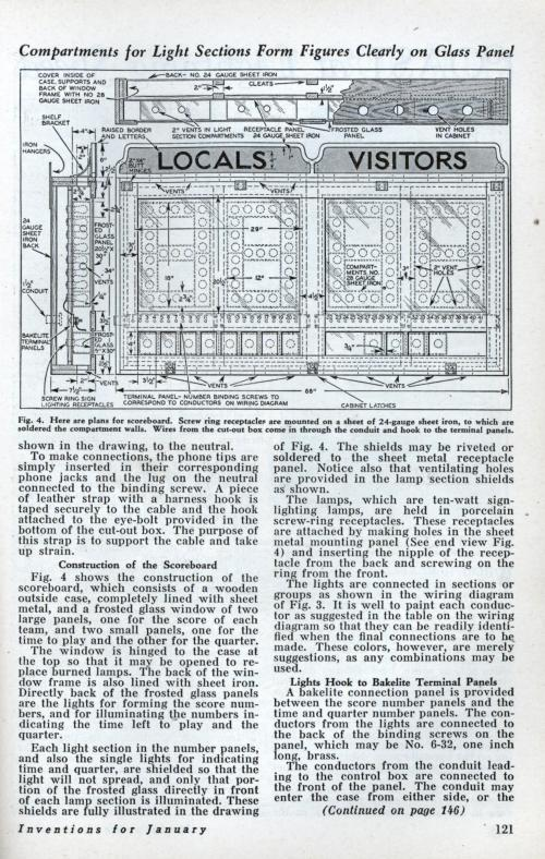 small resolution of build this basketball scoreboard for your gym jan 1933