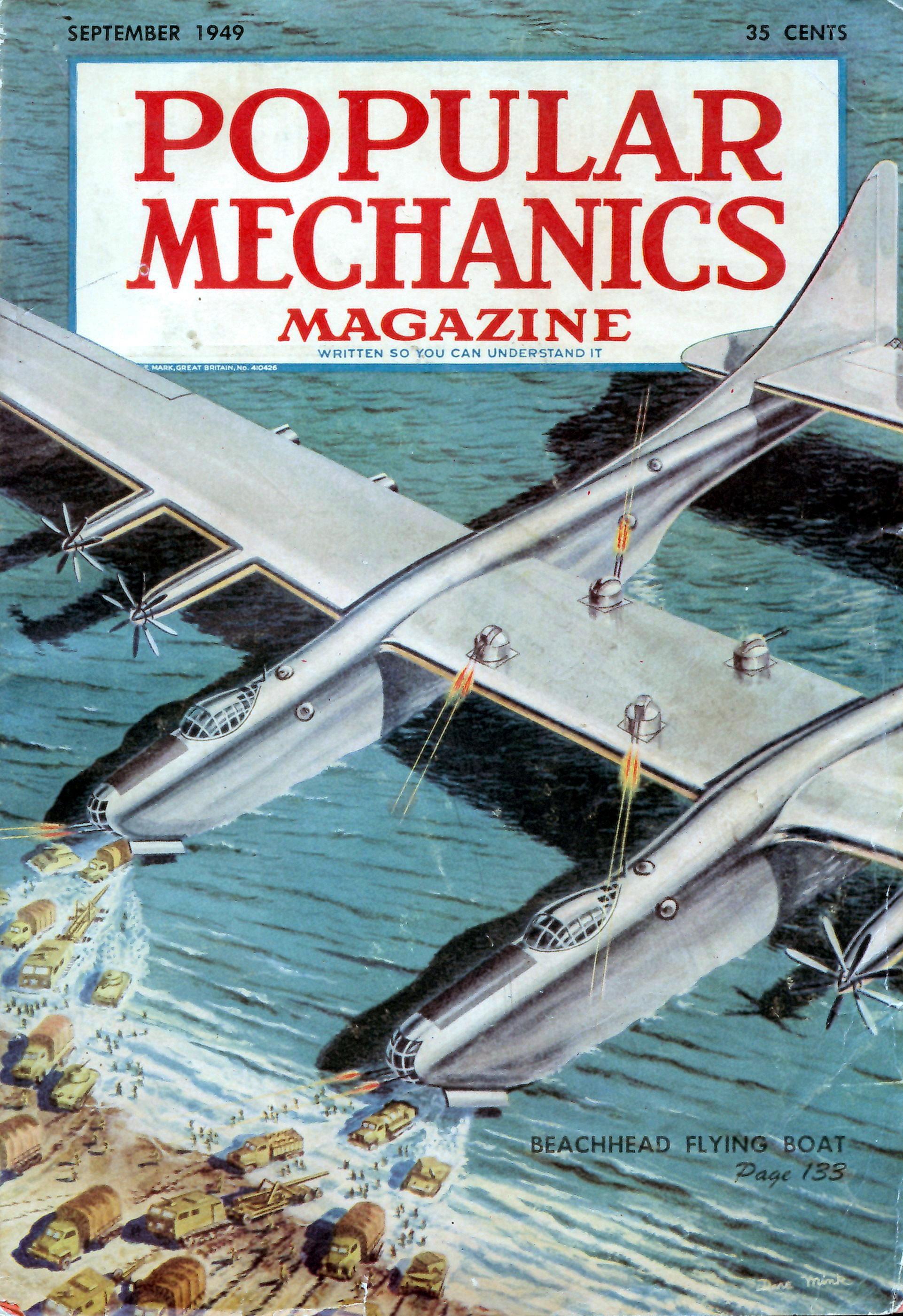 Popular Mechanics  Sep 1949  Modern Mechanix