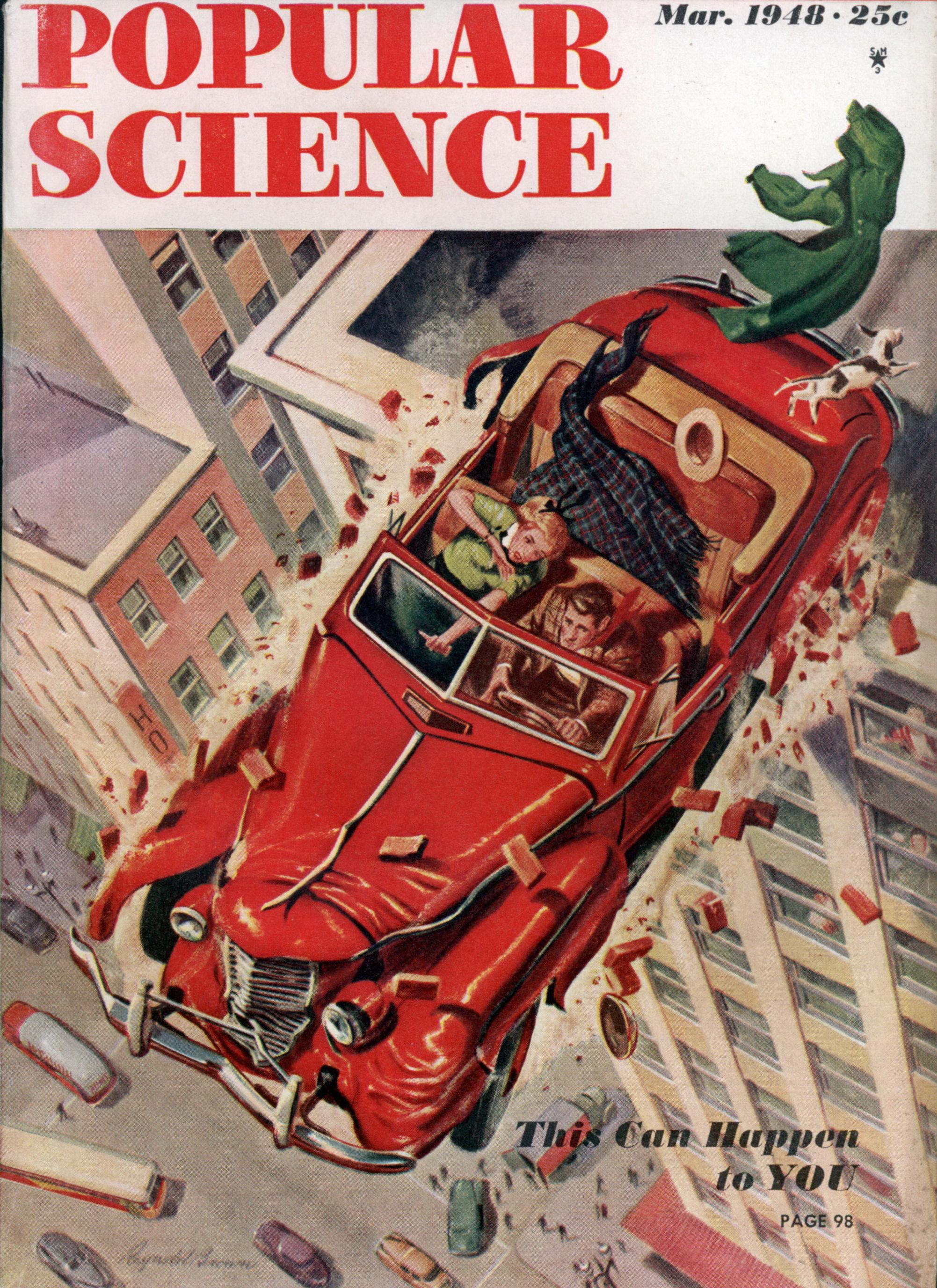 Popular Science  Mar 1948  Modern Mechanix