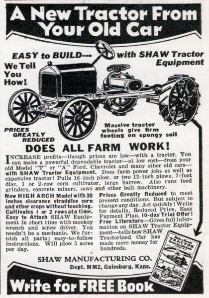 Model T to Tractor