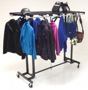 Portable Folding Coat Rack