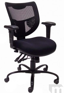 24/7 400 lb. Capacity Multi-Shift Adjustable Office Chair