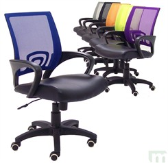 We Heard From Several People Last Year Looking For An Office Chair For  Their High School/college Aged Kid And Our Y10113 Leather U0026 Mesh Color  Burst Office ...