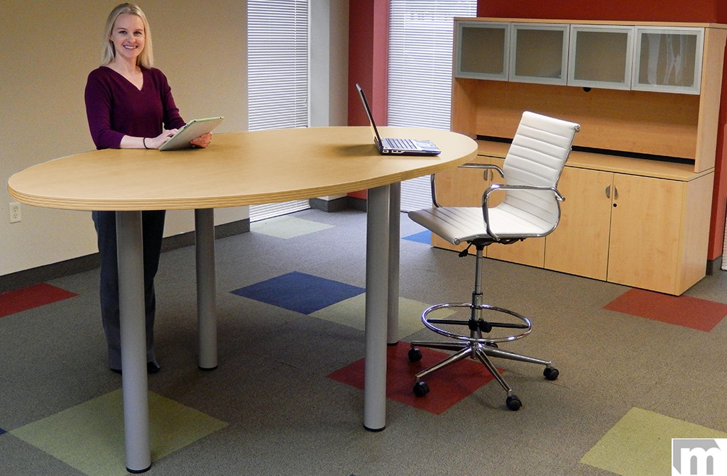 Learn The Pros Cons Of Standing Height Conference Tables - Standing height conference table