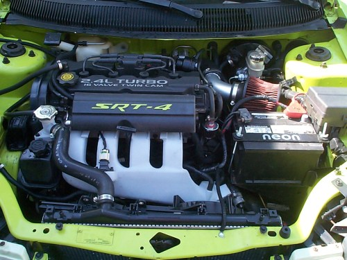 small resolution of 95 neon with srt 4 motor swap