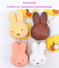 modes4u Miffy Squishies Giveaway, ends May 7th, 2018