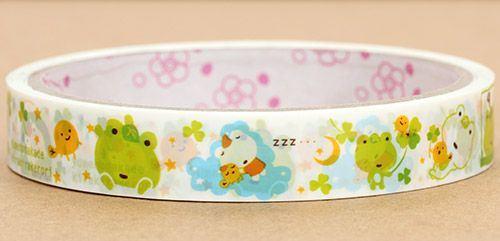 cute Kerori frog Tape San-X