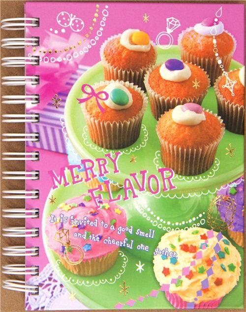 cute Cupcake notebook from Japan