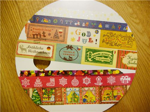 A couple of different Christmas Washi Tapes
