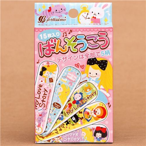 fairy tale Alice in Wonderland kids Bandage Band-Aid set