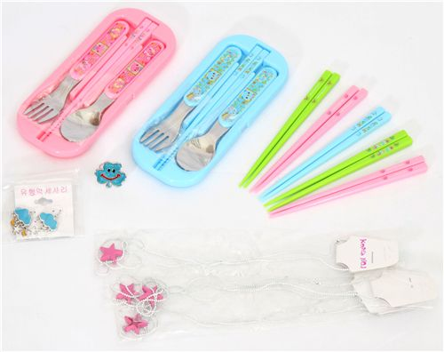 chopsticks, cutlery sets, necklaces and more