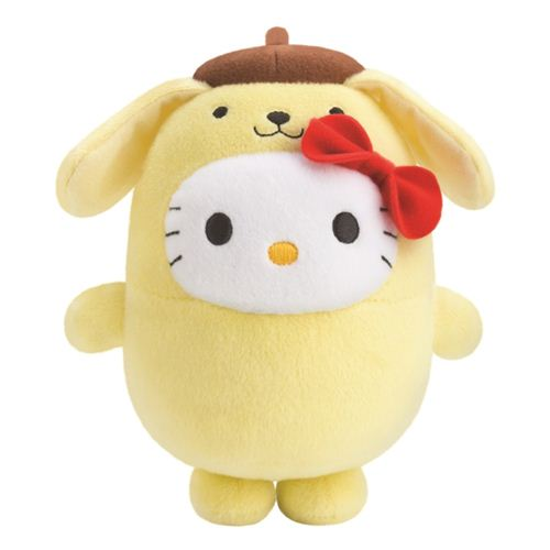 Bubbly Day Hello Kitty Pompompurin plush toy