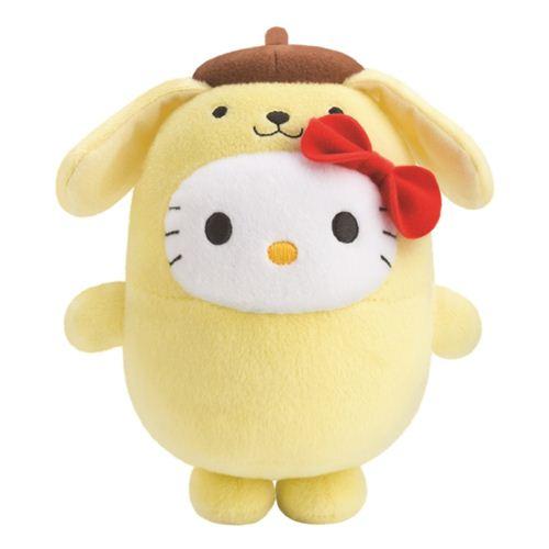 Bubbly Day Hello Kitty Pompompurin plush toy
