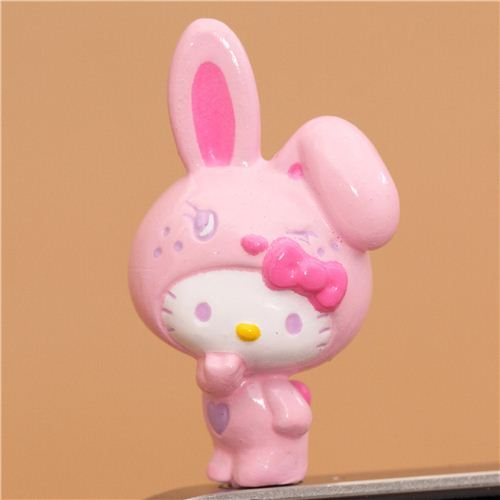 pink Hello Kitty bunny mobile phone plugy earphone jack
