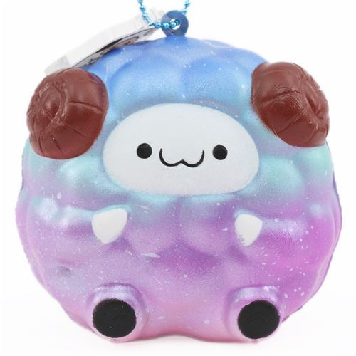 galaxy mini Pop Pop Sheep squishy by Pat Pat Zoo