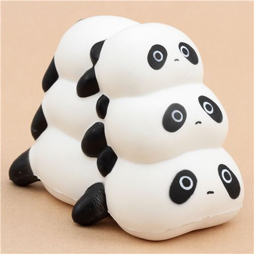 scented three pandas squishy