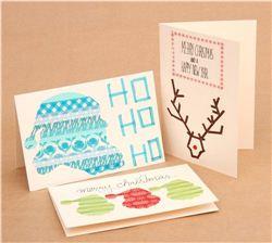 Christmas DIY: Christmas cards with Washi Masking Tape