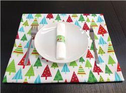 Christmas DIY: Christmas place mats