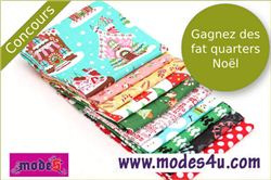 Christmas Fabric Giveaway with Blog Petit Citron (ends on Sep 25, 2014)