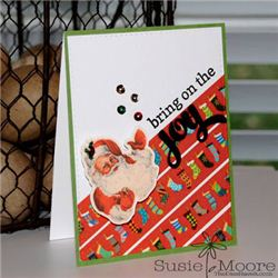 Washi Tape Christmas Card on Christmas Stampin
