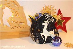 Christmas Basket on mell mull (German blog)