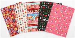 Christmas Fabric Giveaway with Japanese Sewing Books (ends on Oct 27th, 2015)