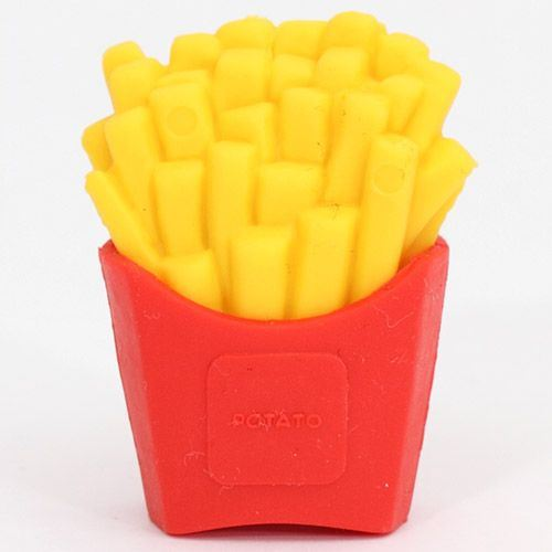 French fries eraser from Japan by Iwako
