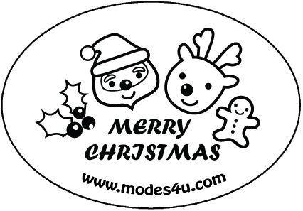cute Christmas modes4u-stamp