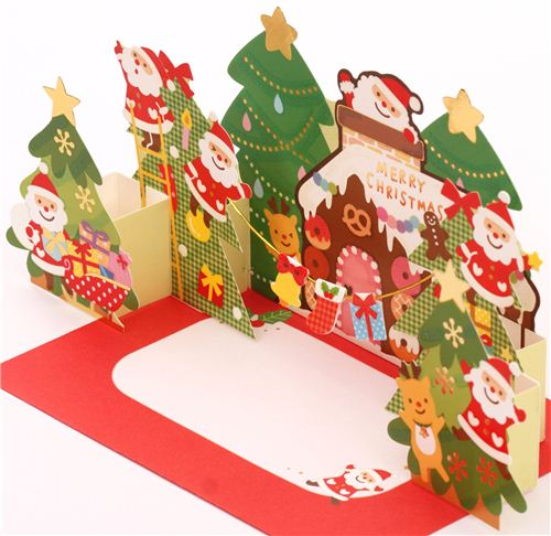 Cute pop up christmas cards in our shop modes blog the cards make a lovely christmas decoration that is easy to place anywhere m4hsunfo