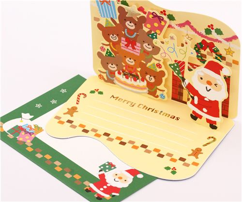 Of course there is also more than enough space to write Christmas greetings.