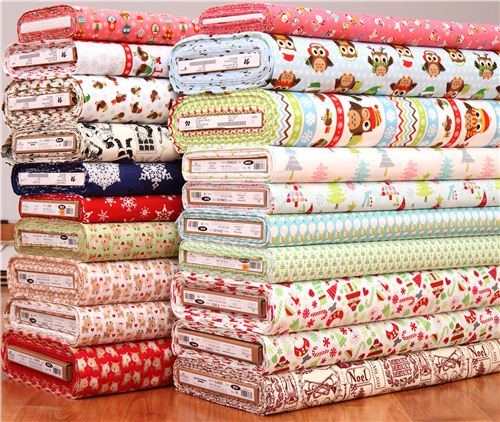 You can now find many cute new Christmas fabrics on modes4u.com