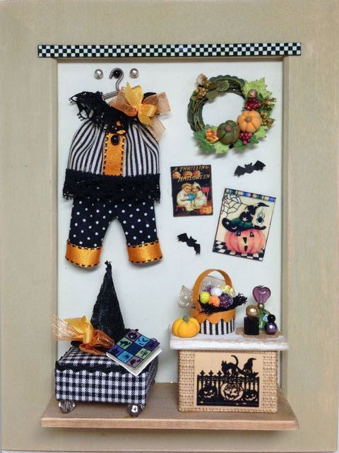 What great inspiration for a Halloween sewing project!