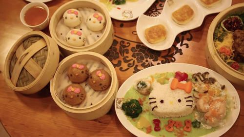 You can choose of a big variety of cute dishes.  picture from L.A. Times online