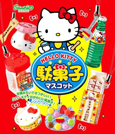 Re-Ment Hello Kitty Retro Candy blind packet