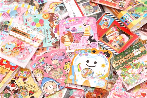 The next 100 shop orders will receive a free surprise sticker sack