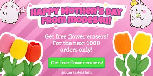 Happy Mother's Day! Get a FREE GIFT with your order!