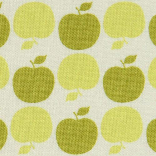 green apples Michael Miller fabric USA designer fabric