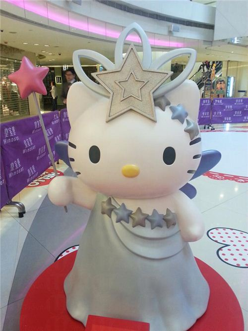 Hello Kitty as a fairy, picture from U-Tavel Hong Kong