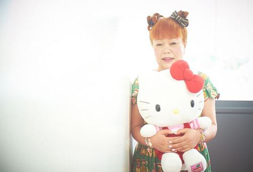 The woman behind the cat. Third appointed Hello Kitty designer Yuko Yamaguchi and her protegee.
