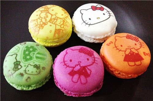 Another glance at our macaron selection from Le petit cafe