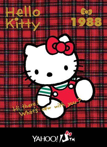 Hello Kitty x Yahoo e-cards 1988