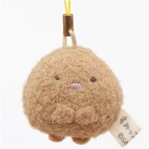 mini Sumikkogurashi cutlet cute plush charm by San-X